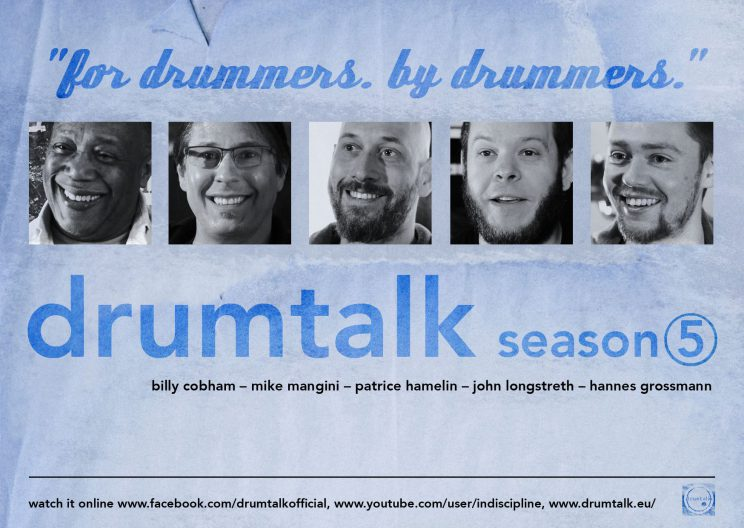 drumtalk [season 5] - flyer FRONT